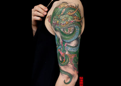 Tattoo Copenhagen Enter the Dragon Tattoo studio