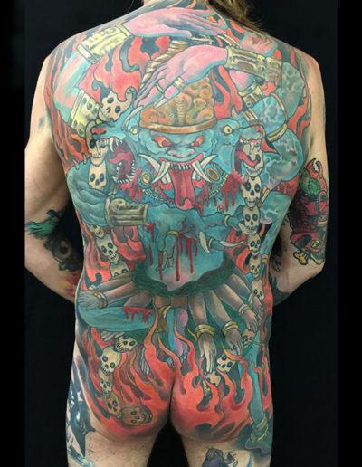 kali dæmon tatovering