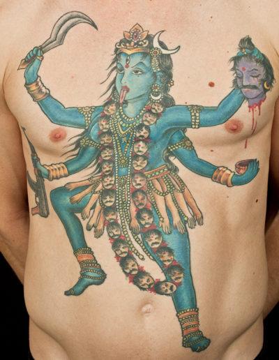 kali tatovering