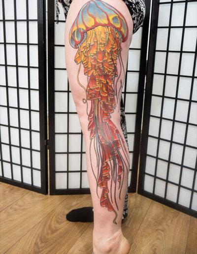 brændmand medusa tatovering