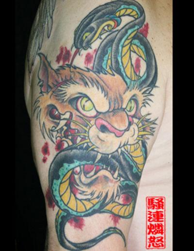 newschool tatovering
