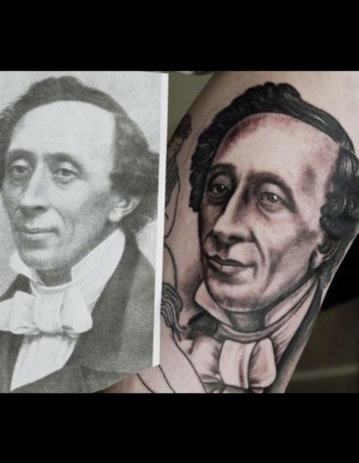 hc andersen tatovering