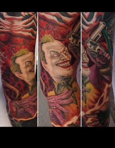 joker tatovering