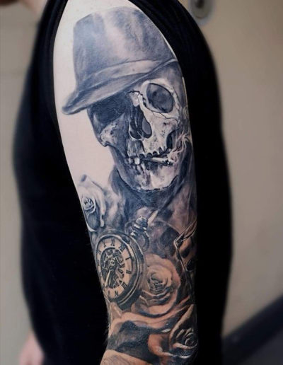 kranie tatovering